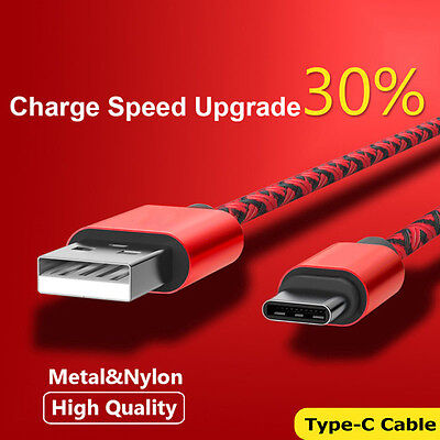 $ CDN4.69 • Buy USB-C Type-C 3.1 Fast Charging Data Charger Cable For Samsung Galaxy S8/S9 Plus