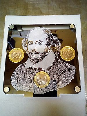 Royal Mint £2 Shakespeare Coin Holder Display Stand Album  • 28.99£