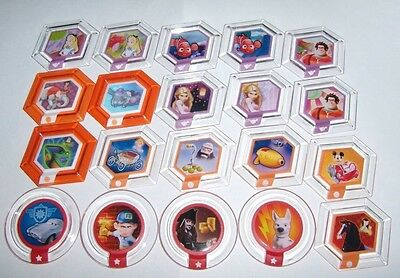 $6.97 • Buy Disney Infinity Power Discs Complete Finish Your Set Lot Used Disc All Available