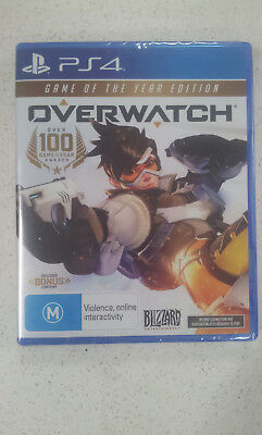 AU53.99 • Buy Overwatch GOTY Game Of The Year Edition PS4 Game (NEW)