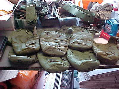$ CDN5.01 • Buy US Military MILITARY  1Qt Canteen Cover (1)   OD LC-2 Pouch Carrier  Alice Clips