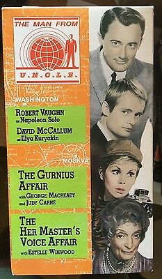 $ CDN11.93 • Buy Man From UNCLE - V. 13 (VHS) Rare 1966-67 Episodes W/Judy Carne-Estelle WInwood