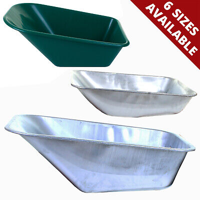 £19.99 • Buy Replacement Spare Wheelbarrow Tray Pan Universal Fitting Metal Plastic No Holes