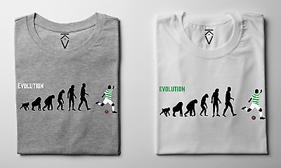Personalised Football Evolution Of Man T-shirts Choose Your Own Final Kit On Man • 22£