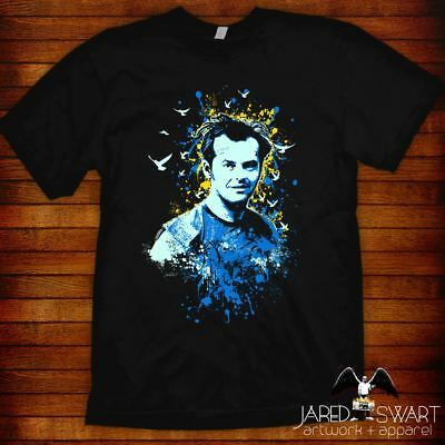 £18.88 • Buy One Flew Over The Cuckoo's Nest T-shirt Arwork By Jared Swart Unisex & Ladies