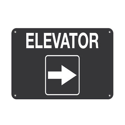$38.99 • Buy Elevator Style 4 Business Sign Elevator Signs Aluminum METAL Sign