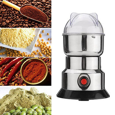 $17.06 • Buy Electric Coffee Spice Nuts Grinding Mill Machine Bean Grinder Miller Pulverizer