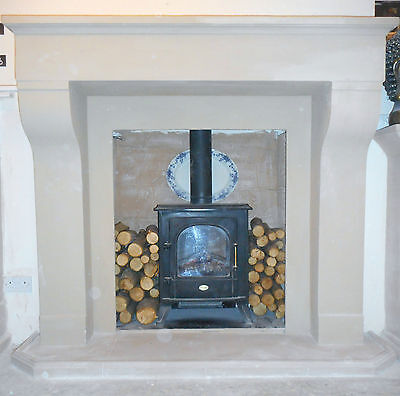 £300 • Buy F02 Extra Large Belgian Fire Surround In Plaster - BIRMINGHAM COLLECTION ONLY