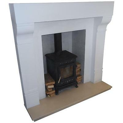 £250 • Buy F01 Large Ashbourne Fire Surround In Plaster - BIRMINGHAM COLLECTION ONLY