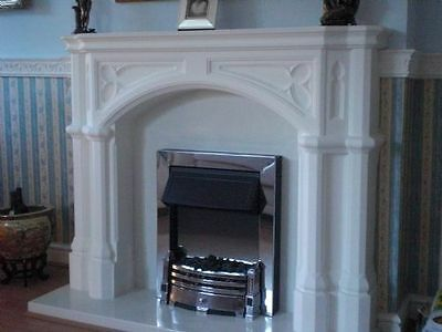 £225 • Buy F09 Cambridge Fire Surround In Plaster - BIRMINGHAM COLLECTION ONLY