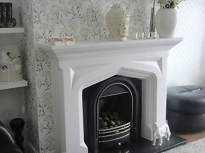£225 • Buy F11 Tudor Fire Surround In Plaster - BIRMINGHAM COLLECTION ONLY