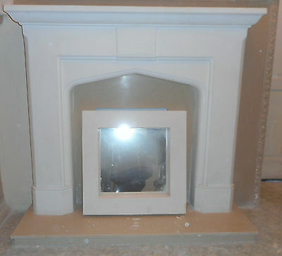 £140 • Buy F12 Pugin Fire Surround In Plaster - BIRMINGHAM COLLECTION ONLY