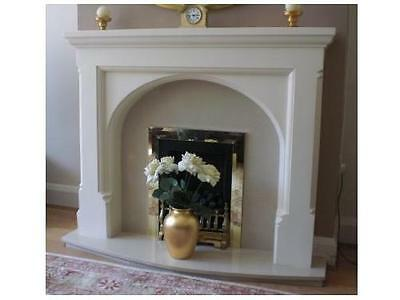 £200 • Buy F16 Gothic Arch Fire Surround In Plaster - BIRMINGHAM COLLECTION ONLY