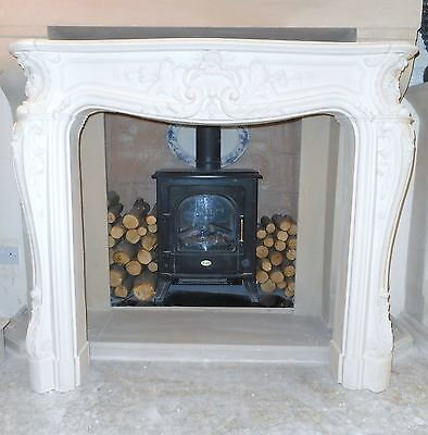 £300 • Buy F19 Grand Louis Fire Surround In Plaster - BIRMINGHAM COLLECTION ONLY