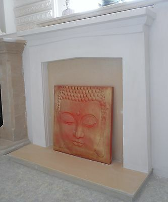 £150 • Buy F21 Saxon Fire Surround In Plaster - BIRMINGHAM COLLECTION ONLY