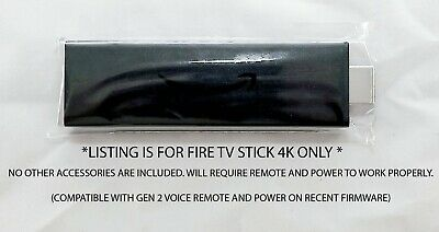 AU48.36 • Buy 4K Amazon Fire TV Stick 4K Only - NO Remote - NO Cables - Model E9L29Y 2160P