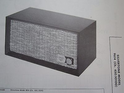 $ CDN7.86 • Buy Silvertone 9614 Reverberation Amplifier Photofact