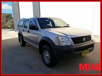 AU6280 • Buy 2005 Holden Rodeo RA MY05 LX Utility Crew Cab 4dr Auto 4sp 1105kg 3.5i A