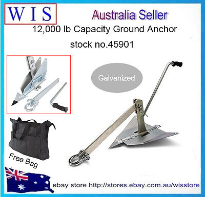 AU249.99 • Buy Land Ground Anchor 4X4 4WD Off Road,Ground Anchor For Winch Up To 5443Kg-45901