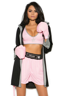 £41.67 • Buy Sexy Womans Adult Boxer Rope Shorts Costume