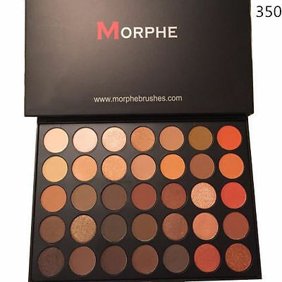 AU19.99 • Buy Hot Brand Morphe Brushes 35o 350 Eyeshadow Palette 35 Color Nature Glow