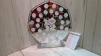 50 Pence Coin Hunt Album Royal Mint Stand Olympic 2012 50p Display 3 Layer  • 65£