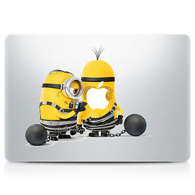 $9.99 • Buy Minion Decal Sticker Skin Stickers For Macbook Pro Air 11 12 13 15 17 In V1 C