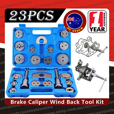 AU28.55 • Buy 23pcs Disc Brake Wind Back Tool Kit To Rewind Car Automotive Caliper Piston AU