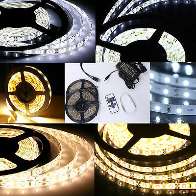 $6.42 • Buy 1M-10M LED Strip Waterproof 5630 3528 SMD Light Strip Flexible FR Remote Power