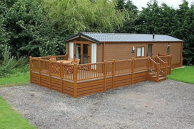 2018 Willow Lodge | 2 Bed | 38 X 12 | Log Cabin | Mobile Home | Canexel Or Wood • 24,995£