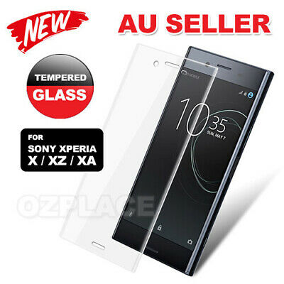 AU3.95 • Buy Tempered Glass Screen Protector For SONY XPERIA X XA XA1 PERFORMANCE XZ PREMIUM