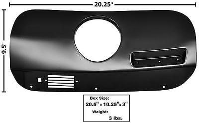 $144.89 • Buy 1969-70 Ford Mustang Dash Trim Cover W/Clock Hole - RH New Dii
