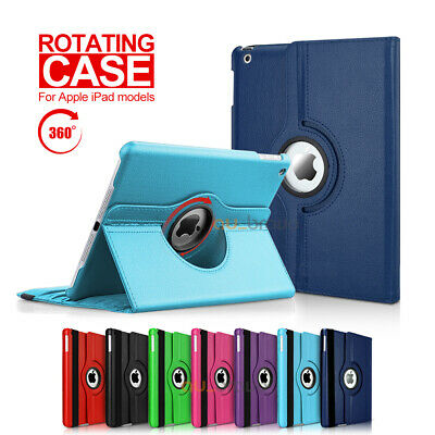 AU10.95 • Buy 360 Leather Smart Case Cover For Apple IPad 6 5 4 3 2, IPad Mini IPad Air / Pro
