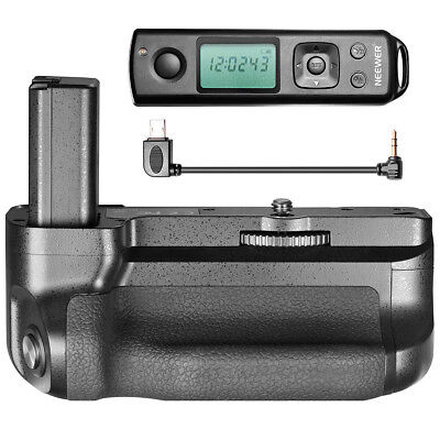 $ CDN196.16 • Buy Battery Hand Grip For Sony A6500 Digital Camera Photo Remote / NP-FW50