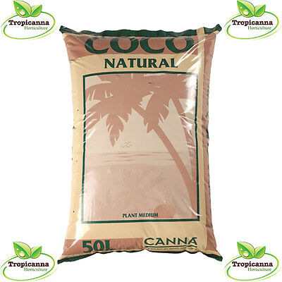 £16.49 • Buy Canna Coco Natural 50L Bag Hydroponic Coir Growing Media