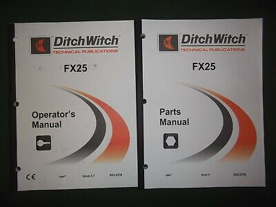 ditch witch parts manual