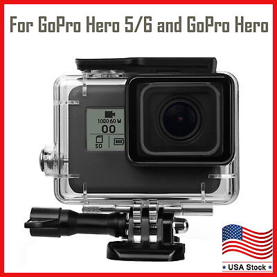 $ CDN13.74 • Buy For GoPro Hero 5 Black/GoPro Hero 6/GoPro Hero Waterproof Protective Cover Case