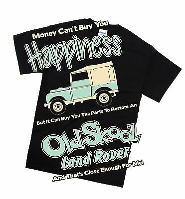 Land Rover Early Series T Shirt Retro Classic Off Road Petrol Head Gift • 14.99£