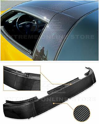 For 05-13 Chevrolet Corvette C6 GM Factory Carbon Fiber Roof B-Pillar Halo Cover • 289.99$
