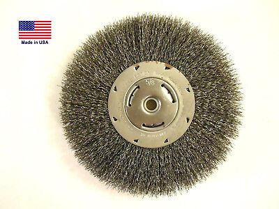 $ CDN36.87 • Buy 8  Crimped Wire Wheel, 1  Thick, 5/8  Bushings, .014 Wire, Craftsman, New, USA.