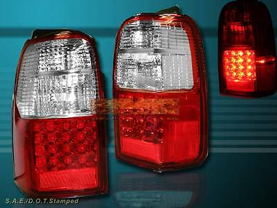 AU205.95 • Buy 2001-2002 Toyota 4runner Red Led Tail Lights Pair New