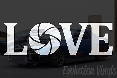 $1.99 • Buy Love Photography V1 Decal Sticker - JDM Lowered Stance Low Drift Slammed Turbo