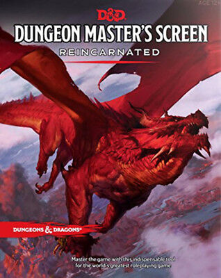 AU24.95 • Buy Dungeons & Dragons Dungeon Masters Screen Reincarnated NEW