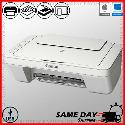 View Details Canon Color Printer Compact All-in-One Copier Scanner + USB (ink Not Included) • 57.80$