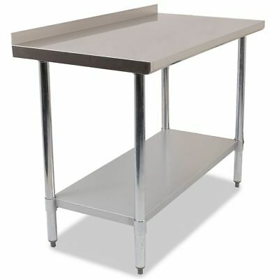 Commercial Stainless Steel Kitchen Food Prep Work Table Bench Top Various Widths • 91.80£