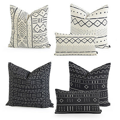 Hofdeco Premium Cushion Case Pillow Cover HEAVY WEIGHT BOHO African Mud Cloth • 15.74£