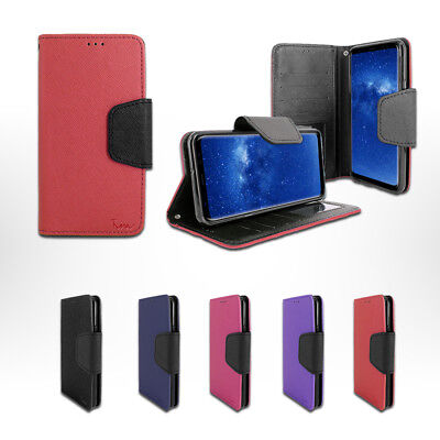 $ CDN9.93 • Buy For Samsung Galaxy Note 8 / NOTE8 Leather Wallet Flip Card Holder Cover Case