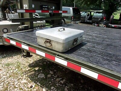 $295 • Buy Military Surplus Kitchen M59 Field Range Pot With Griddle Lid Mkt Trailer- Army