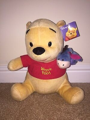 Disney Winnie The Pooh With Eeyore Puppet Plush Toy ( Brand New With Tags) • 12.95£