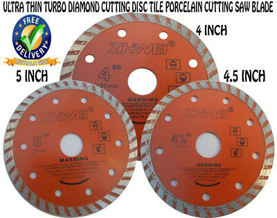 AU12.99 • Buy NEW Ultra Thin Turbo Diamond Cutting Disc Tile Porcelain Cutting Saw Blade